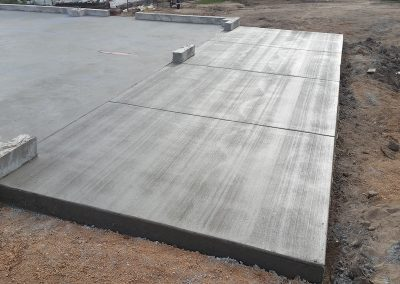 Concrete Garage Apron in El Paso County, Colorado Built by PSF Company