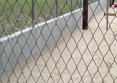 Concrete Fence Support Wall in El Paso County, Colorado Built by PSF Company