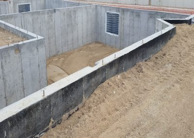Concrete Foundation for Full Basement in El Paso County, Colorado Built by PSF Company