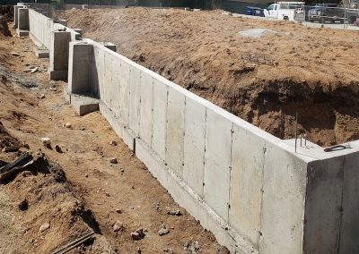 Concrete Foundation for Metal Building in El Paso County, Colorado Built by PSF Company