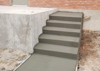 Concrete Steps in El Paso County, Colorado Built by PSF Company