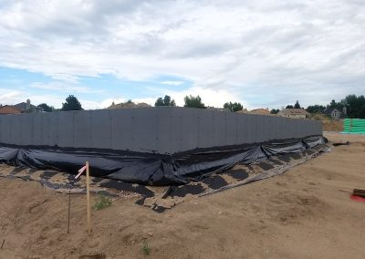 Concrete Next-Drain, Damp Proofing Foundation in El Paso County Colorado Built By PSF Company